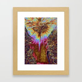 Guardians of the Light Framed Art Print