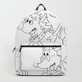 Christmas: It's Too Fucking Deer Backpack