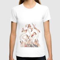 flamingo T-shirts featuring Flamingo by violaine costa