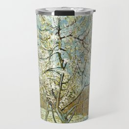 Vincent Van Gogh Peach Tree In Blossom Travel Mug