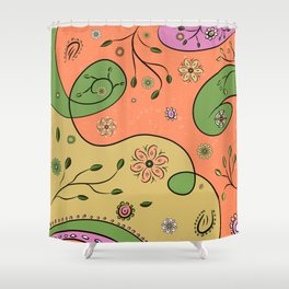 inpired by the nature Shower Curtain