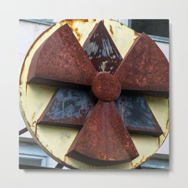 Radioactive Chernobyl Metal Print
