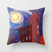 fullmetal alchemist Throw Pillows featuring Alchemist by Zuzana Ondrejkova