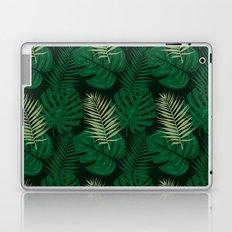 Tropical Leaves Green Laptop & iPad Skin