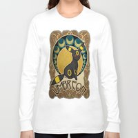 umbreon Long Sleeve T-shirts featuring Umbreon by Yamilett Pimentel
