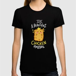 Funny Chicken Nugget Nug Life Fast-Food Junk Gift T-shirt