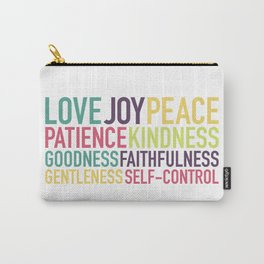 Fruits of the Spirit Carry-All Pouch