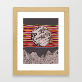 The In Between Framed Art Print