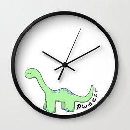 Did the dinosaurs Fart? Wall Clock