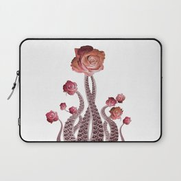 Floral Octopus Tentacles with Roses Laptop Sleeve