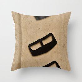 Three Wise Yadoo's  Throw Pillow