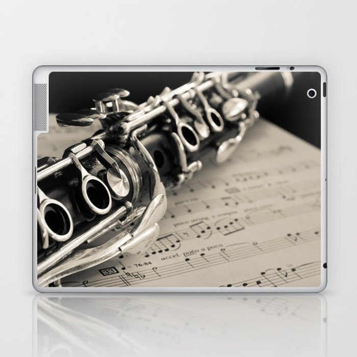 Clarinet Laptop & iPad Skin