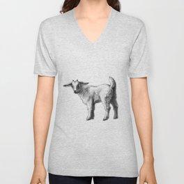 Goat baby G147 Unisex V-Neck