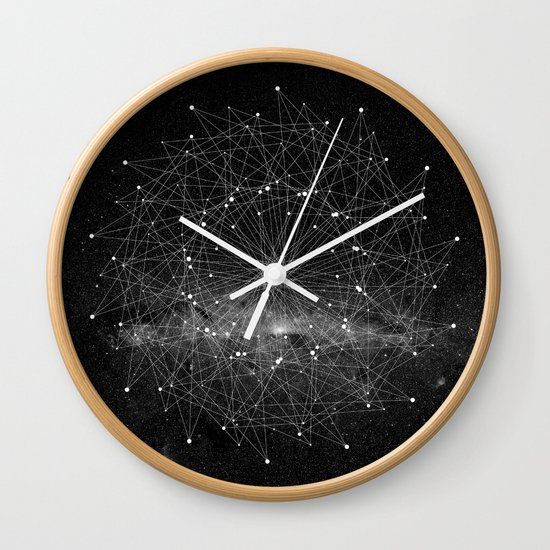 STARGAZING IS LIKE TIME TRAVEL Wall Clock