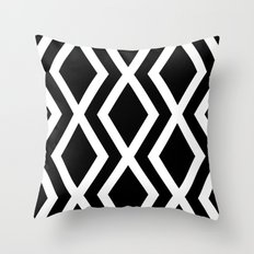 Delighted X Throw Pillow