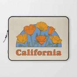 California Poppies Laptop Sleeve