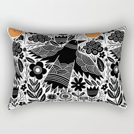fly into the sun Rectangular Pillow