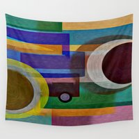 dreamer Wall Tapestries featuring DREAMER  by Robleedesigns