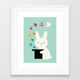 Magic Of Peace Framed Art Print