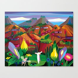 Marin County: The Hills have Eyes Canvas Print