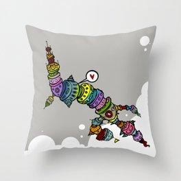Habite-se Throw Pillow