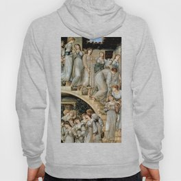 "Edward Burne-Jones ""The Golden Stairs"" Hoody"