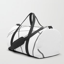 minimalistic thoughts Duffle Bag