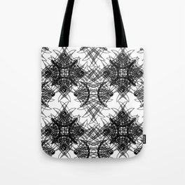 Knives Pattern Tote Bag