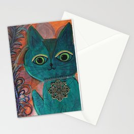 Blue Maxine Stationery Cards