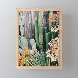 California Cactus Framed Mini Art Print