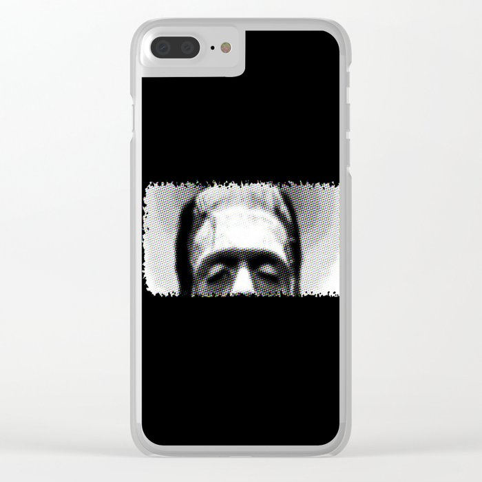 Frank's Monster Clear iPhone Case