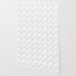 Silver christmas wrapping Wallpaper