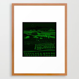 River São Francisco II Framed Art Print