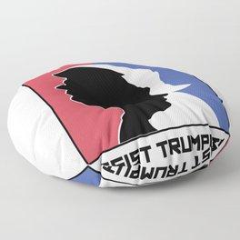 Anti Trump Art | Impeach President | Resist Putin Light Floor Pillow