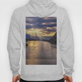 Portage River Sunset - Alaska Hoody
