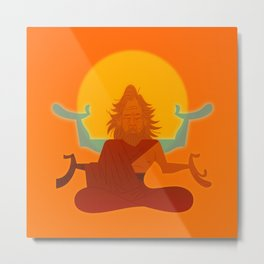 Zen Luke Metal Print