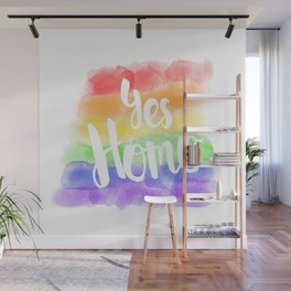 Yes Homo Wall Mural