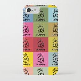 HAPPY SQUARES iPhone Case