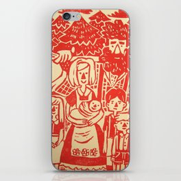 Lumberjack Family iPhone Skin