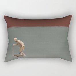 Old man's best friend - Two tones Rectangular Pillow