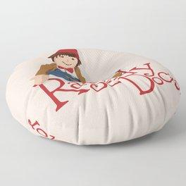 Raggedy Doctor Floor Pillow