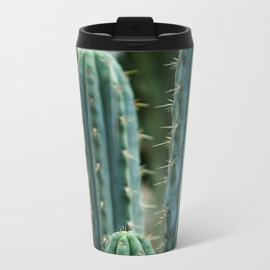 Cactus 04 Metal Travel Mug
