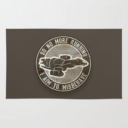 Misbehave Badge V2 Rug
