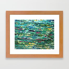 its a jungle out there Framed Art Print