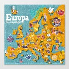 Europa! Canvas Print