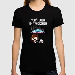 Schäfchen im Trockenen Jesus Christlich Fun T-shirt
