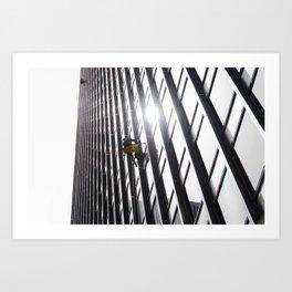 Sky Ninja Art Print