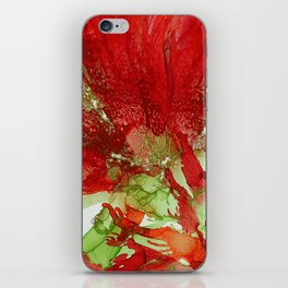 Exotic Red Flower iPhone Skin