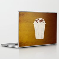 coffee Laptop & iPad Skins featuring Coffee by gunberk