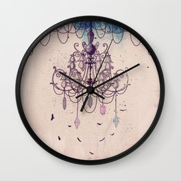 The Chandelier Wall Clock